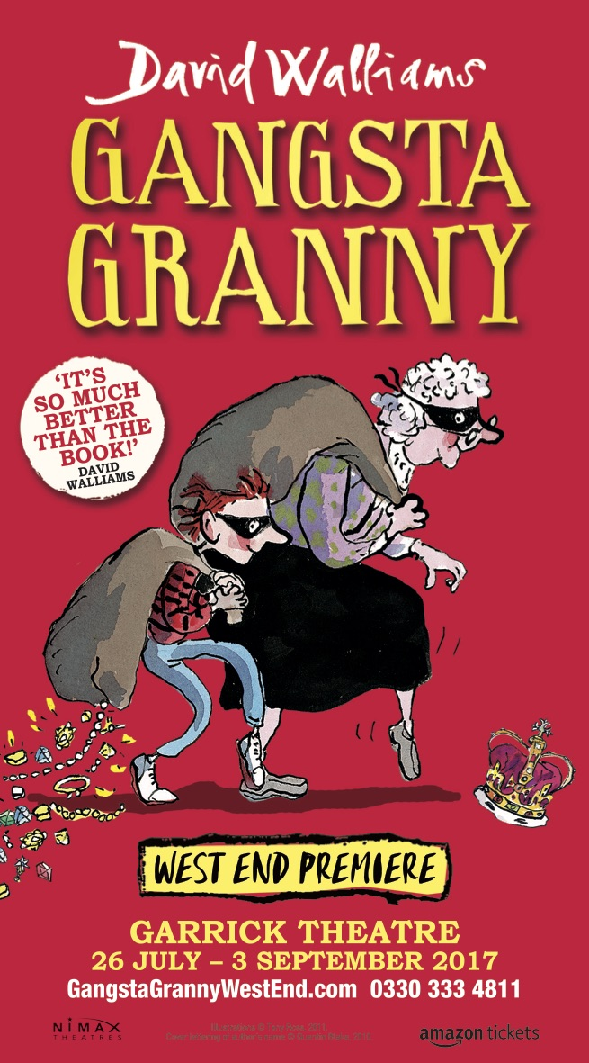 David Walliams' Gangsta Granny West End launch