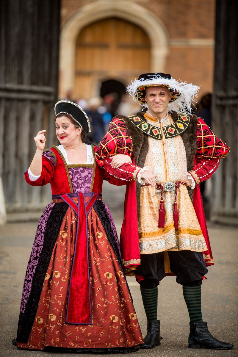 Terrible Tudors at Hampton Court Palace