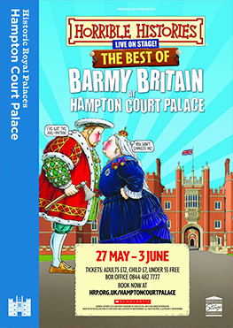 Best of Barmy Britain at Hampton Court Palace