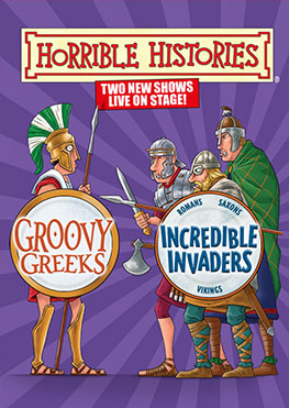 Groovy Greeks & Incredible Invaders